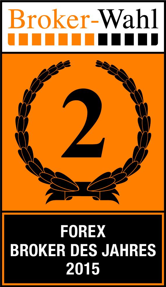 Bester Forex-Broker 2015, Platz 2